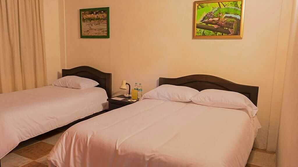 tandayapa lodge triple bedroom