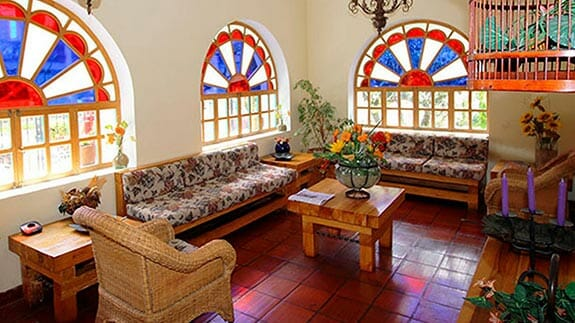 social area of hotel vieja cuba quito