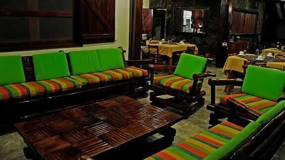 Wooden House Hotel, Puerto Villamil, Isabela, Galapagos - social lounge area