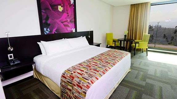 hotel Wyndham quito airport double room