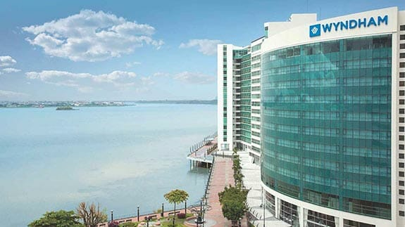 wyndham hotel guayaquil on the malecon 2000 in front of river guayas