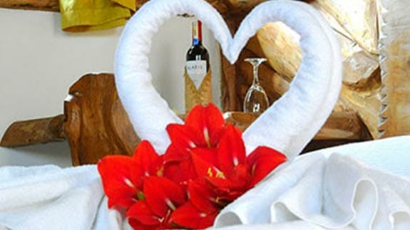 hotel zaysant quito - towels shaped like swans and wine