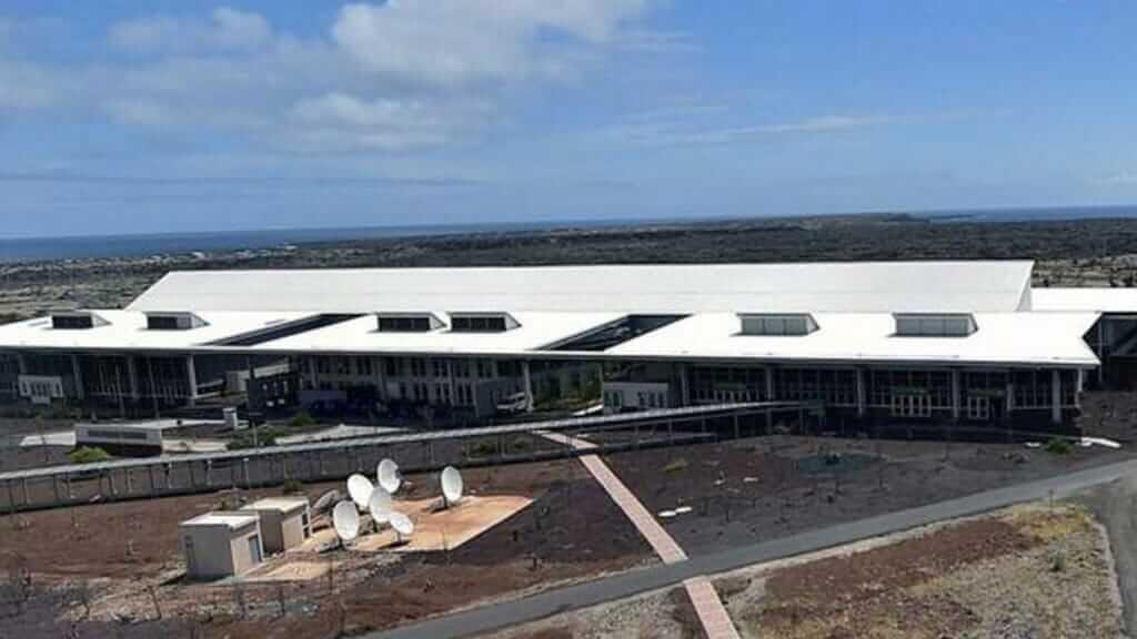 Baltra island Galapagos - Seymour Airport code GPS on Baltra Galapagos