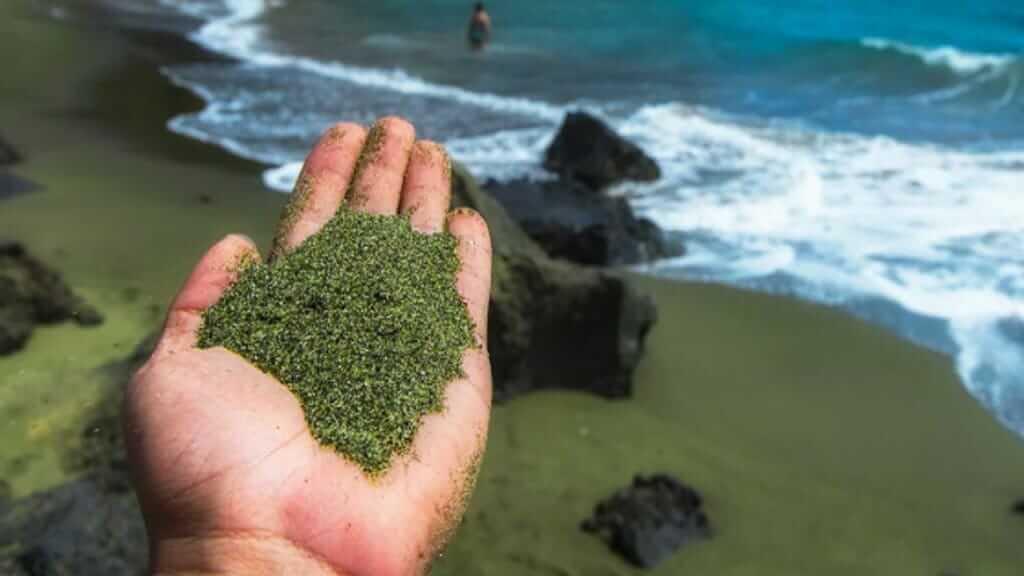 green-beach-floreana-galapagos