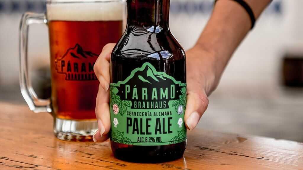 paramo brauhaus pale ale craft beer