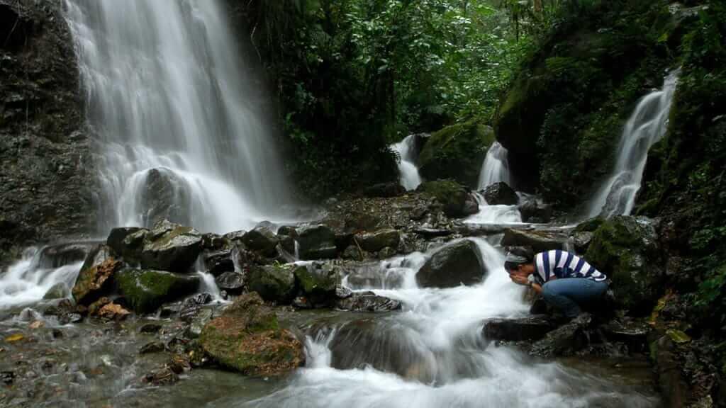bucay waterfalls ecuador