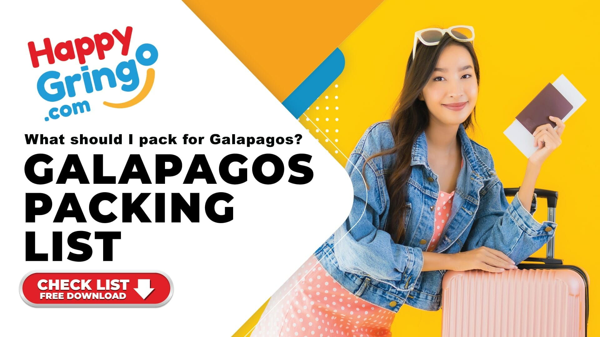 free printable galapagos packing list by happy gringo travel