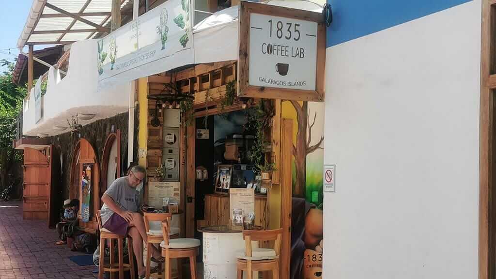 1835 coffee lab cafe puerto ayora santa cruz island galapagos