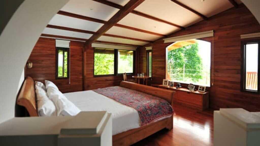 galapagos safari camp bedroom