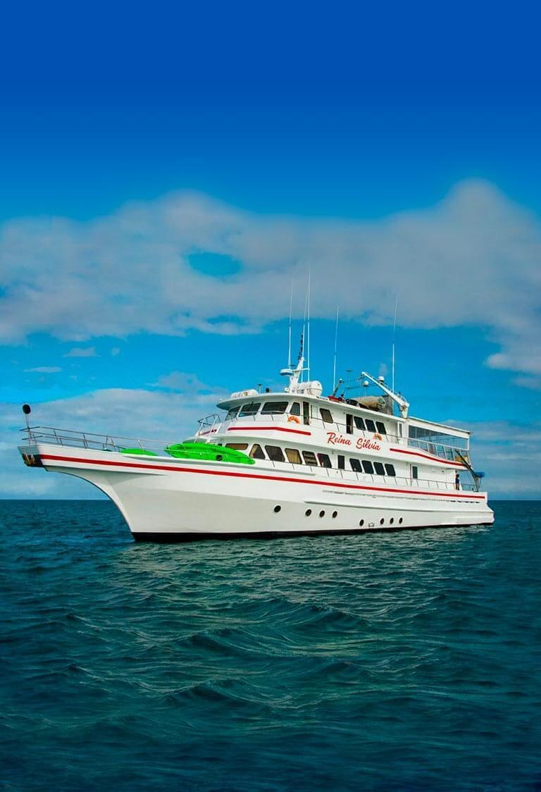 Reina Silvia yacht