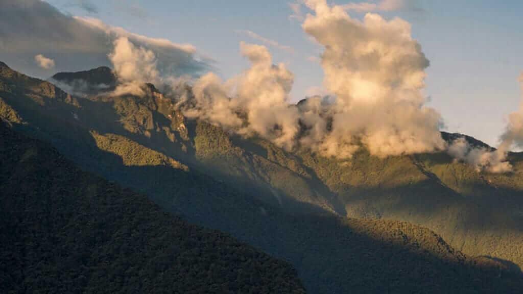 río negro sopladora ecuador landscape