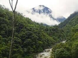 rio negro sopladora national park ecuador