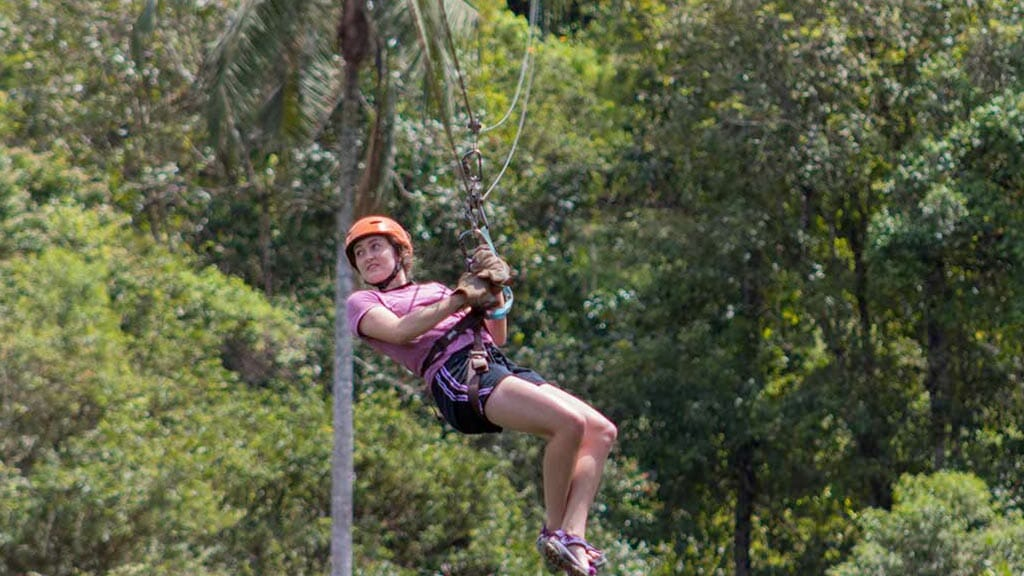 adventure ziplining mindo ecuador