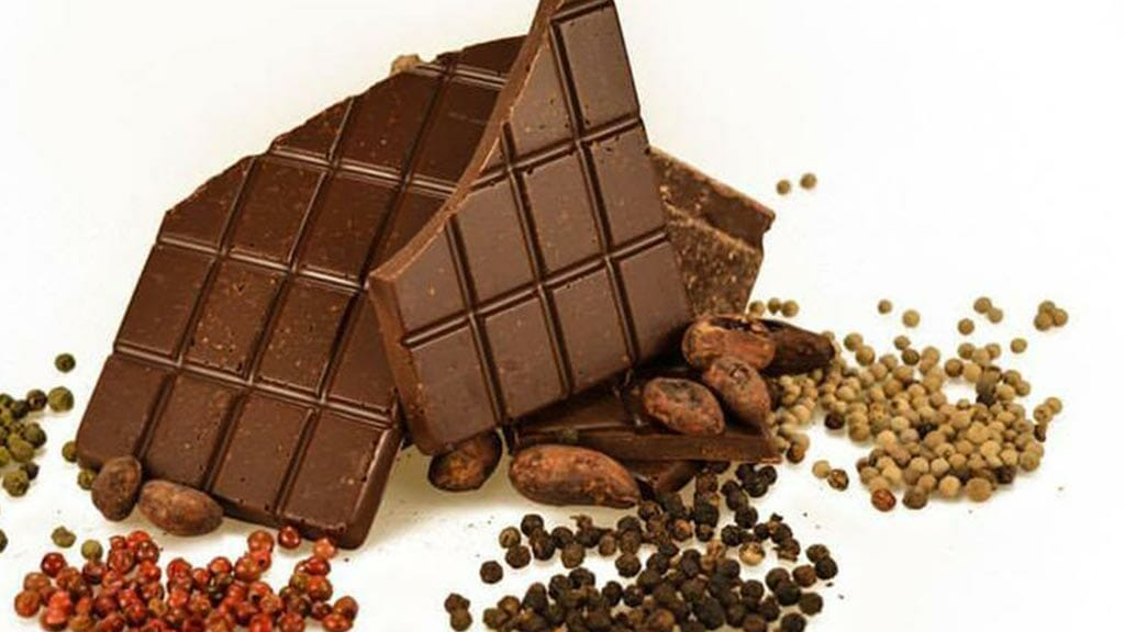 various natural ingredients of ecuador chocolate