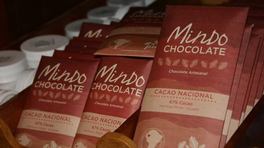 ecuadorian chocolate bars at el quetzal mindo