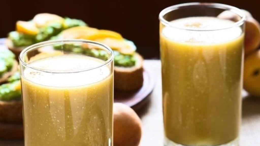 colada de avena con naranjilla drink ecuador