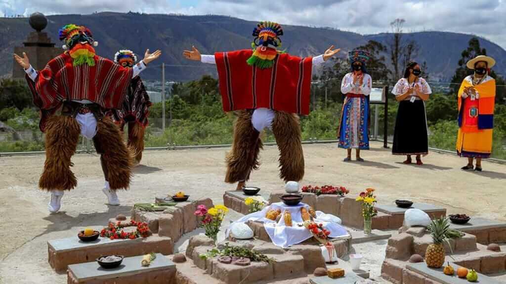 ecuador day of the dead (dia de los defuntos) indigenous celebrations