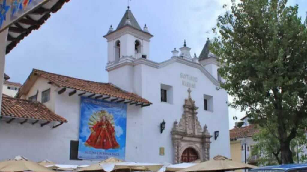 el carmen de la asuncion monastery in cuenca ecuador