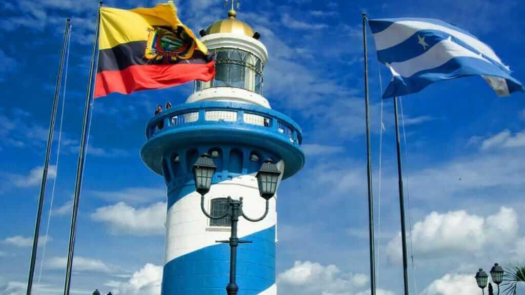 el faro lighthouse in guayaquil ecuador