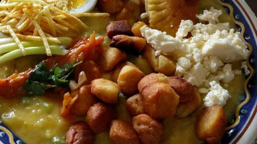 fanesca ecuador - a typical dish in semana santa holy week easter