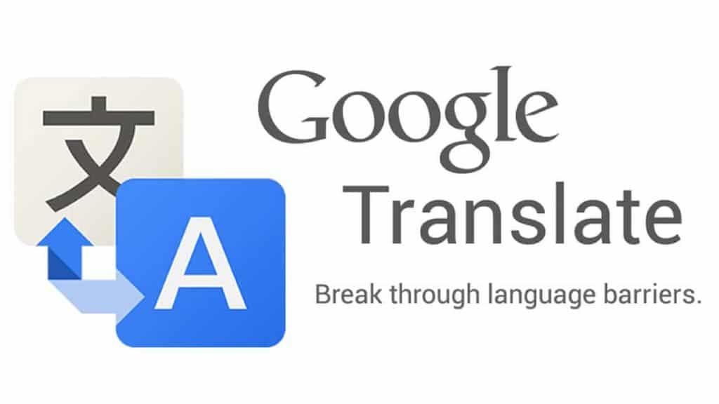 google translate app for travel translations