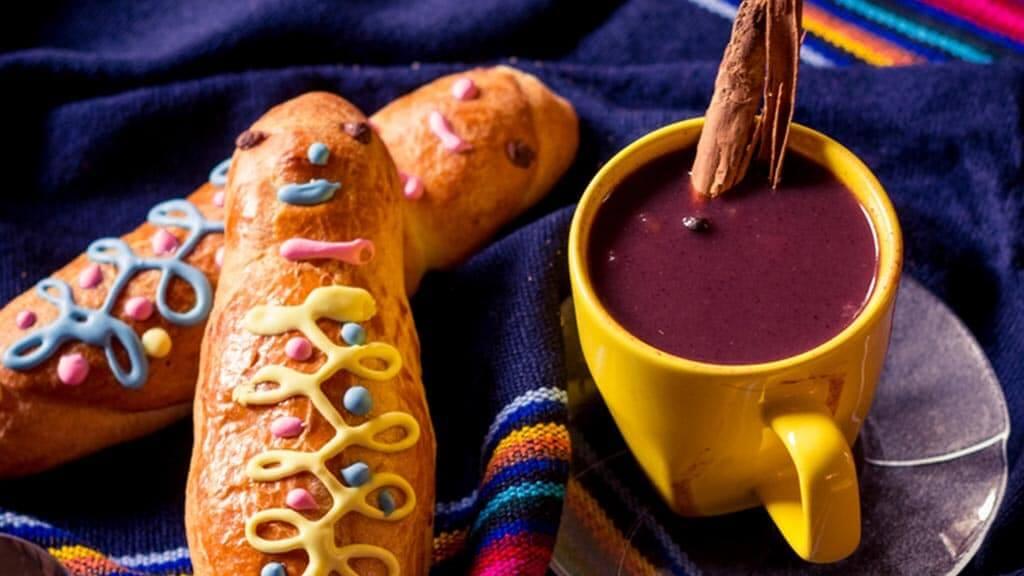 colada morada and guaguas de pan on ecuador day of the dead (dia de los defuntos)