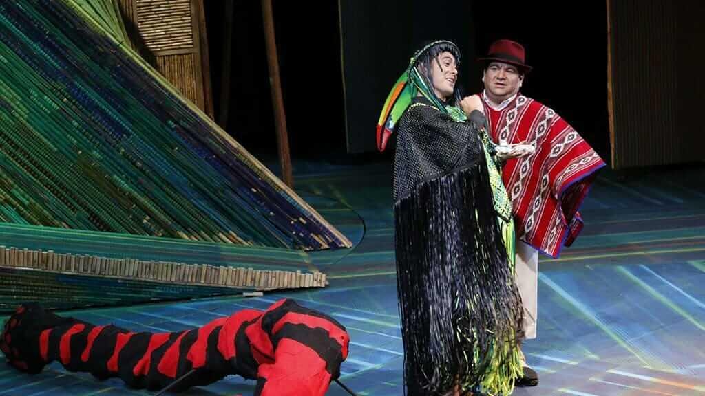 la flauta mágica de Los andes in quito ecuador