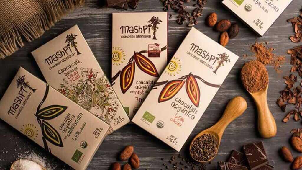 bars of mashpi organic chocolate ecuador