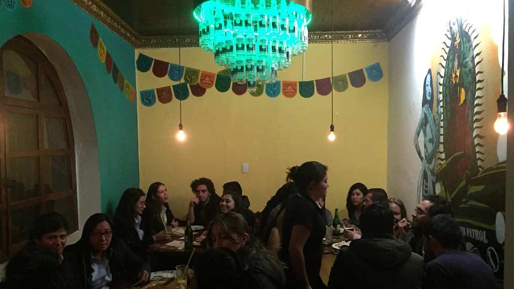 mexicali baja grill language exchange night quito ecuador