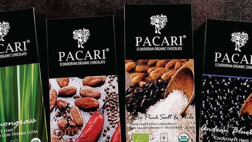 pacari chocolate bars ecuador