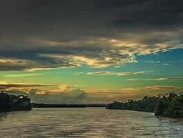 ecuador's amazon river basin