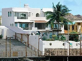 galapagos hotel on the sea front malecon