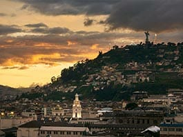 quito elevation and altitude - how high is quito ecuador?