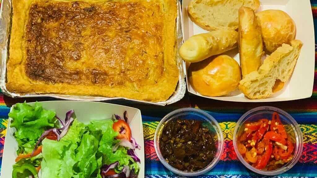 traditional fusion cuisine at cuenca los tiestos restaurant ecuador