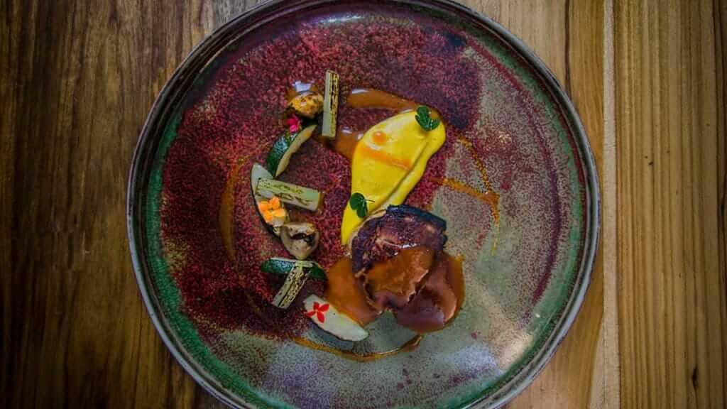 fusion art food at urko restaurant in quito ecuador