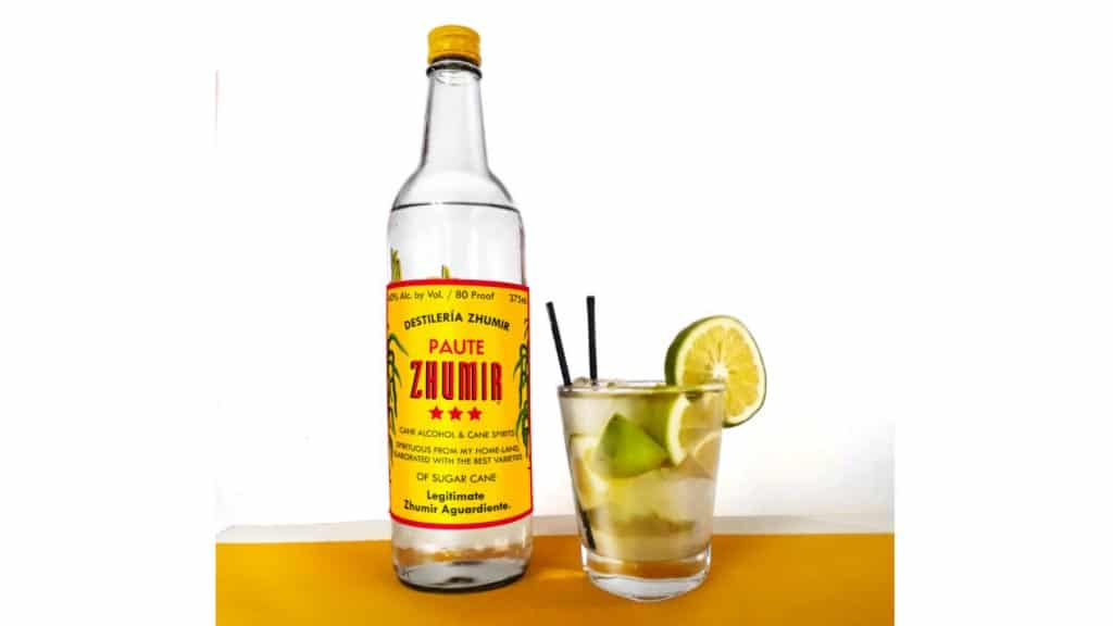 zhumir aguardiente is a popular alcoholic ecuadorian drink