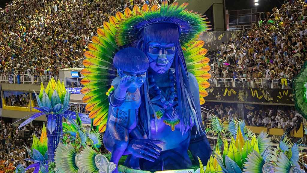the most famous carnival of all at rio in brazil