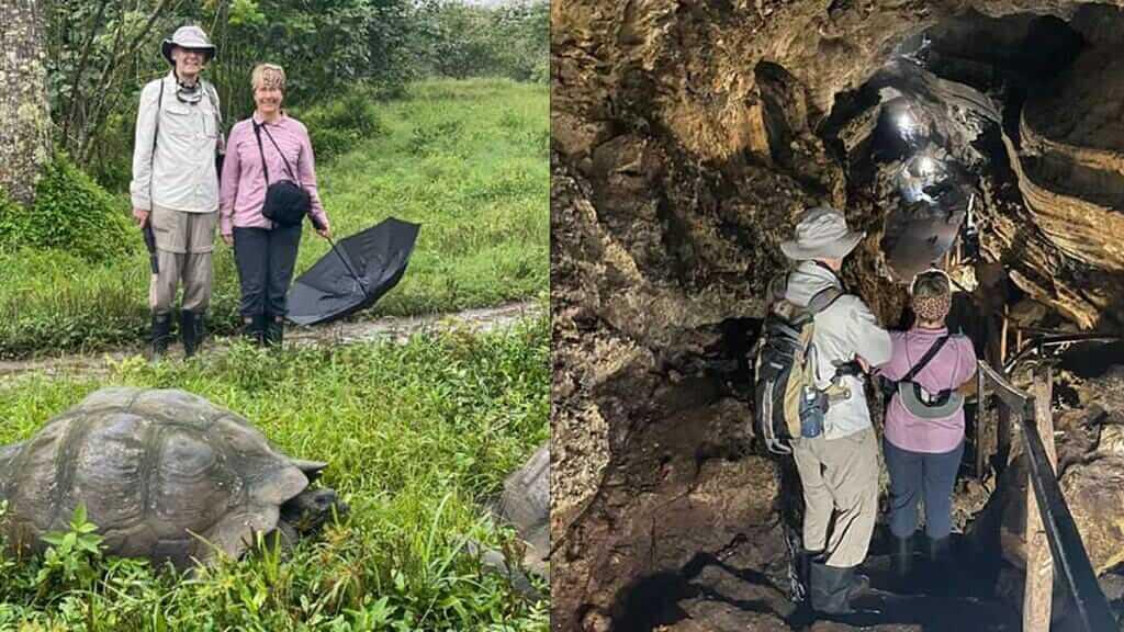 Elders in a galapagos islands vacations