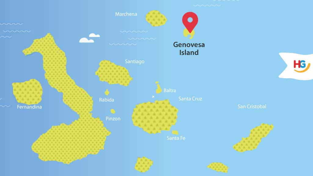 Genovesa Island Map: where is genovesa?