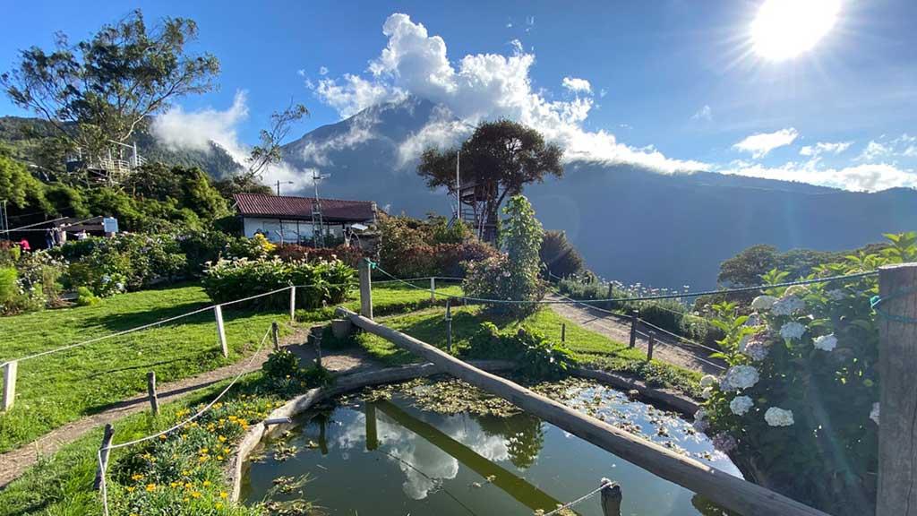 la casa del arbol baños ecuador