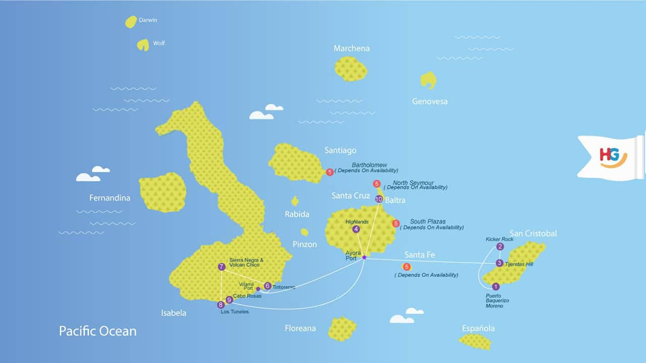 Galapagos-Islands-Land-Tour-9-Days-Adventure-Itinerary