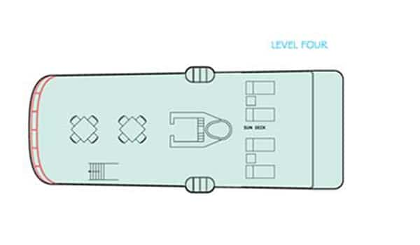 Galapagos Aggressor Dive Yacht deck plan
