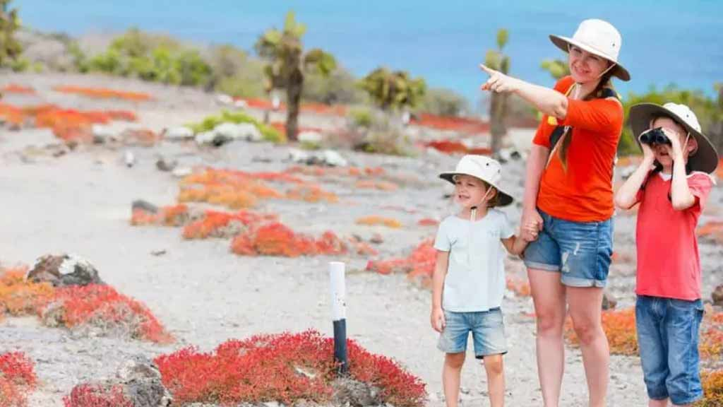 family in the galapagos islands tours