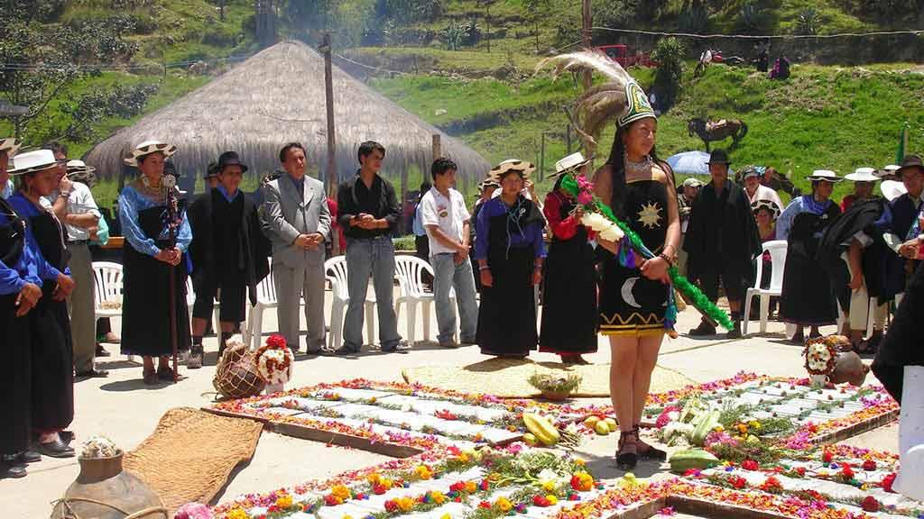 Pawkar Raymi Festival in guaranda ecuador