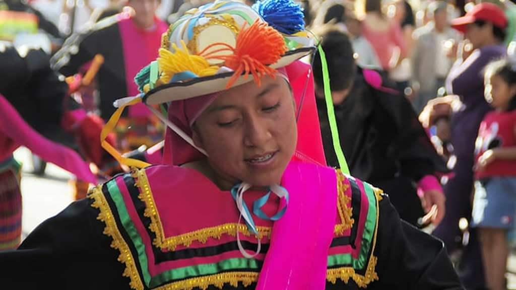costumes in riobamba carnival ecuador