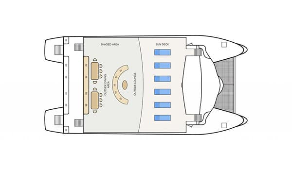 sun-deck-plan-Archipel-II-Galapagos-cruise