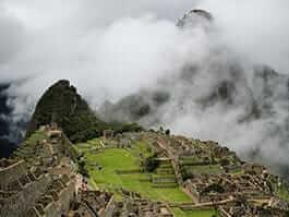 places to visit in peru - machu picchu in the clouds