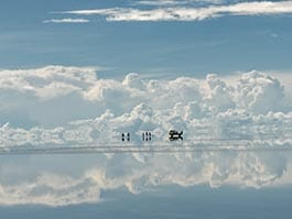 places to visit in bolivia - surreal reflections on the salar de uyuni