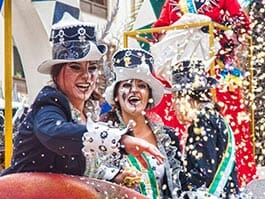 fancy dress locals celebrate quito carnaval