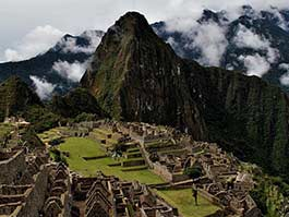 thumb classic view of machu picchu inca ruins in peru